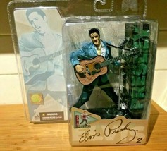 2004 MCFARLANE TOYS ELVIS PRESLEY 50TH ANNIVERSARY  FIGURE FACTORY SEALED - $27.95