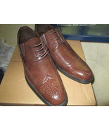Quenti Ashford Carl Men Brown Dress shoes size 10 Brand New - $30.00