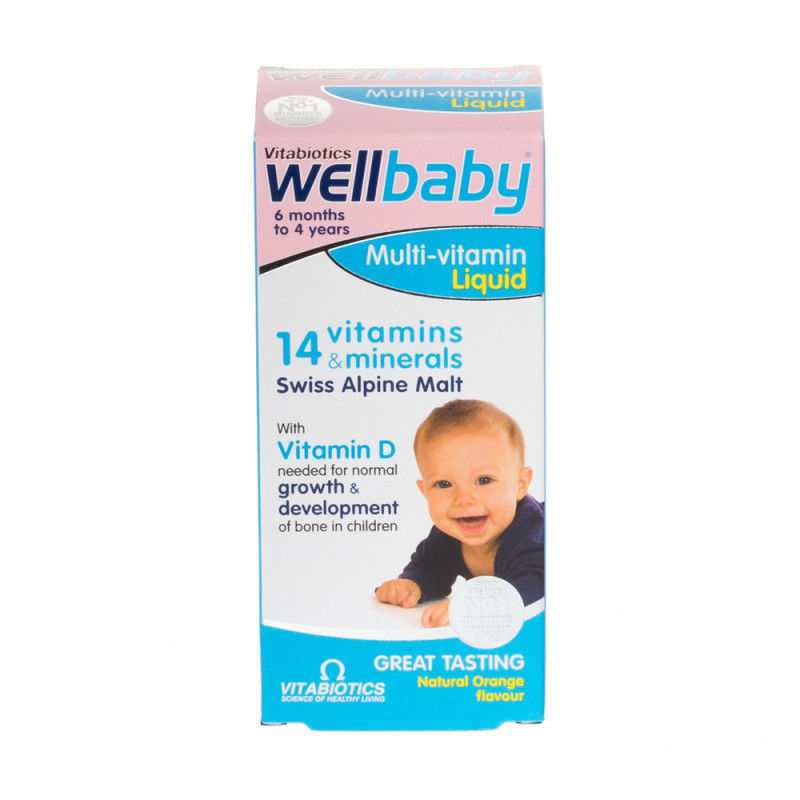 Primary image for Vitabiotics Wellkid Baby and Infant Syrup 150ml