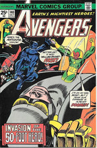 The Avengers Comic Book #140, Marvel Comics Group 1975 VERY FINE - $17.34