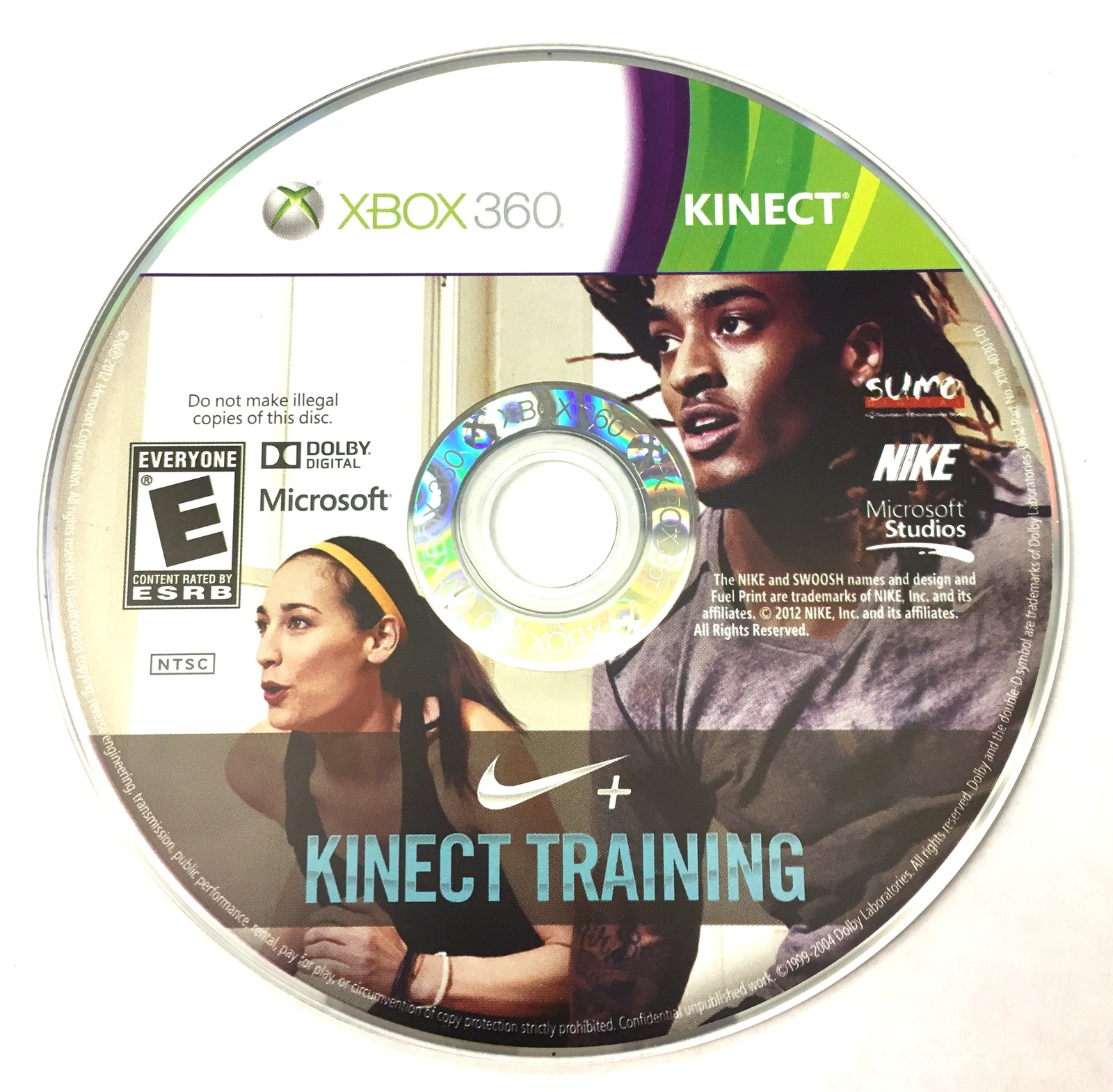 Microsoft Game Kinect training