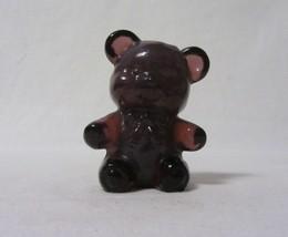 "Boyd Glass Fuzzy The Bear Thistlebloom 3"" High Figurine B In Diamond 1 Line - $12.99"