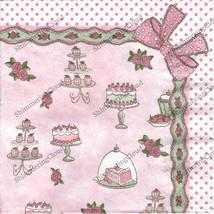 Decoupage Napkins, napkins for decoupage, decoupage paper, cake, kitchen... - $2.80