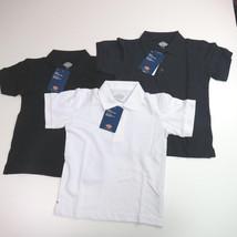Dickies Collar Shirts Boys short sleeve PIQUE Kids School Uniforms polo ... - €9,29 EUR