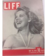 Life Magazine May 28 1945 Starlet Barbara Bates  WWII Era - $14.99