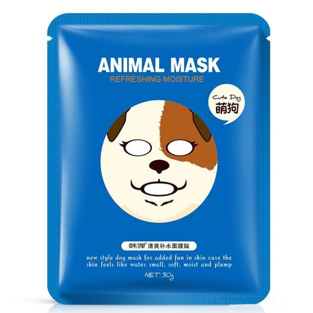 Horec Tiger Dog Sheep Panda Animal Nourishing and Moisturizing Facial Mask