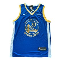 NWT Nike Steph Curry Dri-Fit Technoly Royal Jersey Steph Curry Size XL 52 - $74.25