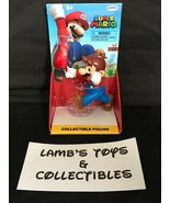 "Super Mario Jakks Pacific 2.5"" Mario Tipping Hat collectible action figu... - $18.99"