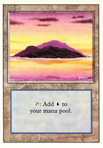 Magic: The Gathering 3rd Edition - Island (B) - $0.25