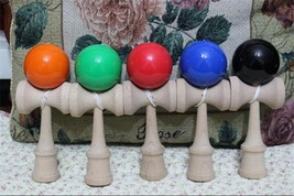 Kendama Professional Skillful Wooden Outdoor Sport PU Paint 18.5cm Strin... - $19.50