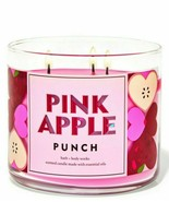 Bath & Body Works Pink Apple Punch Three Wick 14.5 Ounces Scented Candle - $23.95