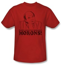 The Princess Bride T-shirt Morons 90s comedy movie cotton red graphic tee PB121 image 2