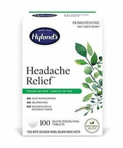 Hyland's Headache and Tension Relief, Natural Pain Medicine, 100 Tablets - $17.46