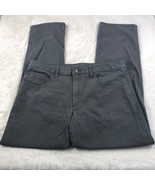Magellan Outdoors Men's Gray Stain Release Straight Leg Pants Size 32x32 - $12.59