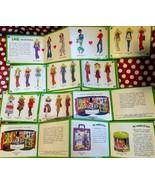 Hasbro World of Love Doll Vtg Mini Booklet Catalog Lot 70s Toy Fashion D... - $26.99