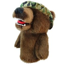 Military Bear Daphne Head Cover-  460CC friendly Driver Life Time Guarentee - $22.95