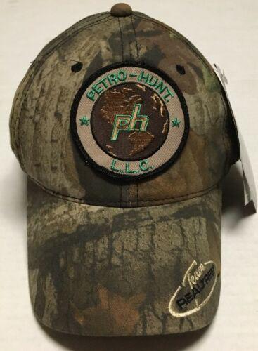 Petro Hunt Hat Oilfield Oil Gas Cap Dallas Texas Camo Hunting Petroleum Realtree