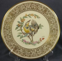 The Meadowlark Lenox Boehm Birds Decorative Plate 1973 Handcrafted Limited  - $39.95