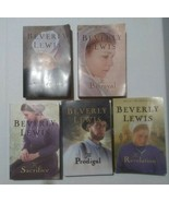 BEVERLY LEWIS LOT 1 - 5  ABRAM'S DAUGHTERS COMPLETE SERIES AMISH THE COV... - $14.84