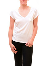 Diesel Women's Authentic T-Soli Short Sleeve Top Ivory Size M RRP £50 BC... - $47.02