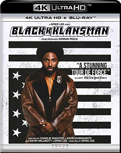 BlacKkKlansman [4K Ultra HD + Blu-ray]
