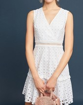 Anthropologie Donna Morgan Eyelet Dress $188 Sz 16 - NWT - $84.14