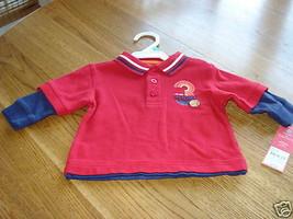 Carter's boys 6M 6 months shirt NWT 20.00 NEW all star - $6.94