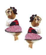 LADY PIRATE DOG COSTUMES - Dress Your Pup Nautical Halloween Sailor Dres... - $37.72