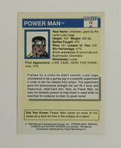 Marvel Universe Series 1 1990 12 Power Man Luke Cage Trading Card - $1.97