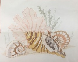 GOLDEN BEE  Counted Cross Stitch Kit #60384 Conch Shell 1990 Made in USA - $6.76