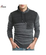 New Spring & Autumn Fashion Brand Clothing Pullover Mens Hooded Sweaters - $39.98