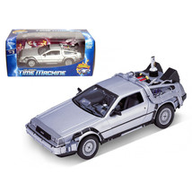 Delorean From Movie Back To The Future 2 1/24 Diecast Car by Welly 22441 - $41.40