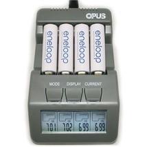 Opus BT-C700 NiCd NiMh LCD Digital Intelligent 4-Slots Battery Charger -... - $25.52