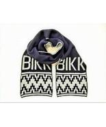 Bikkembergs Unisex Aztec 70810754 Scarf Black - $58.74