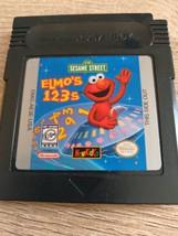 Nintendo GameBoy Sesame Street: Elmo's 1 2 3s image 1