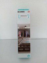 Ideaworks Magic Hangers as seen on TV, triples your closet space - $10.00