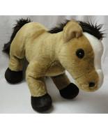 "BABW BROWN PONY Retired White Blaze Horse 15"" inch Plush Build A Bear - $21.99"