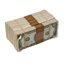 PROP MOVIE MONEY - 1980s Series $100s Aged $50,000 Full Print Package - $139.99