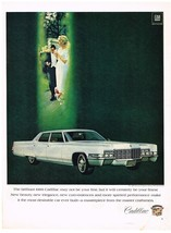 Vintage1969 Magazine Ad Cadillac May Not Be Your First But Certainly Your Finest - $5.93