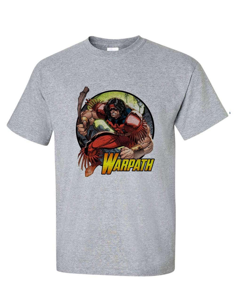 Warpath marvel t shirt x men x force mutant comic books graphic tee for sale online store