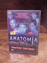 Antomia Horror DVD, in Spanish, NTSC Region 4 formatted, used - $9.95