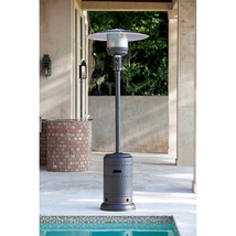 Outdoor Patio Heater w Wheel Kit, 46000 BTUs, Electronic Ignition | NEW - £153.11 GBP