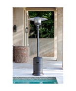 Outdoor Patio Heater w Wheel Kit, 46000 BTUs, Electronic Ignition | NEW - £132.78 GBP