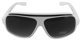 Quay Australia Eyewear 1301 White Black Aviator Style Designer Sunglasses New image 2
