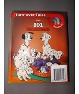 Disney Turn-over Tales 2 Books in 1 Book- NEW- 101 Dalmations & Lady & t... - $7.59
