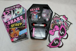 Monster High Share Or Scare Game Complete Christmas Gift Present Ages 6+ - $15.61