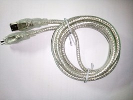 Wholesale Lot of 16 Clear Shielded 6' FireWire Cable - $79.19