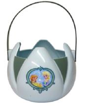 Halloween Frozen Trick or Treat Plastic Bucket Pail Anna & Elsa Blue - $8.99
