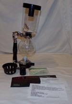 Kaffee Siphon 3 Tasse Xeslana Siphon Kocher Maschine Glas - $44.80