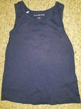 ISAAC MIZRAHI Navy Blue Tank Top Girls Size 4 - $1.88